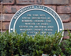 Photo of Tyburn green plaque