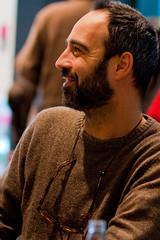 Niccol Ammaniti @ Selexyz Van Piere (Tim Vergeer (Flashbackfoto)) Tags: italian literature bookstore writer romans schrijver italiaans boekenwinkel selexyz niccolammaniti nieuweemmasingel vanpiere rondomdeadmirant