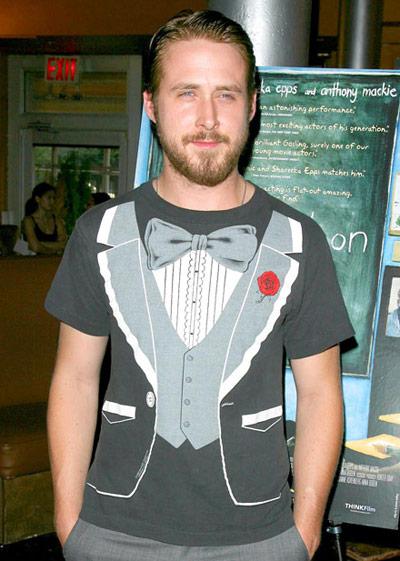 ryan-gosling-Tuxedo-Shirt