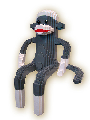 Lego Sock Monkey