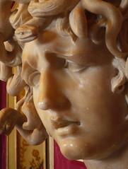 Bust of Medusa (detail)