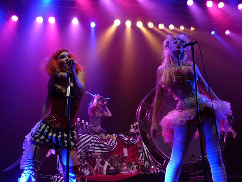 Captain Maggot and Aprella (Emilie Autumn show Luxembourg)