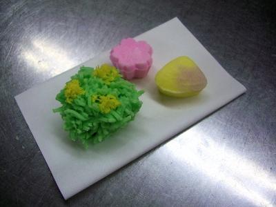職人展 / 春のお茶会に使う和菓子をつくろう
