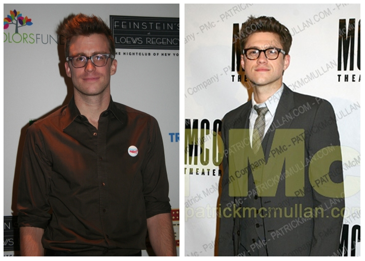 Credit: Gavin, BroadwayWorld.com; Aaron, Partick McMullan.