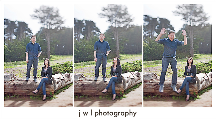 san francisco engagement session USF jwlphotography