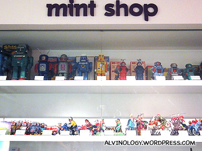 Shop to buy toys