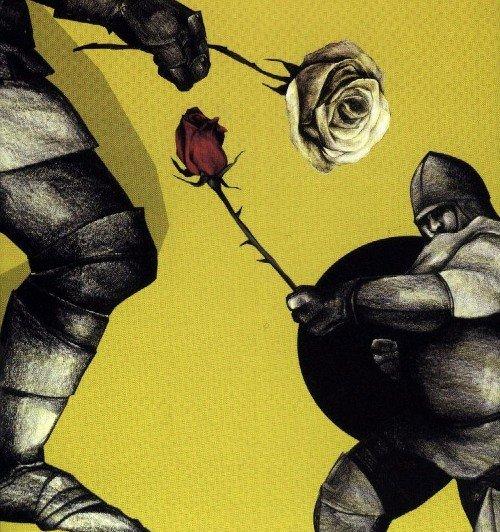 La flecha negra (detalle portada de la edicion Penguin Classics)