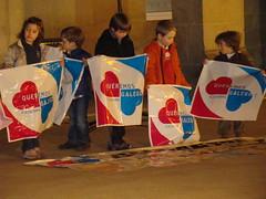 Queremos Galego! concentración 15.03.10, A Estrada.