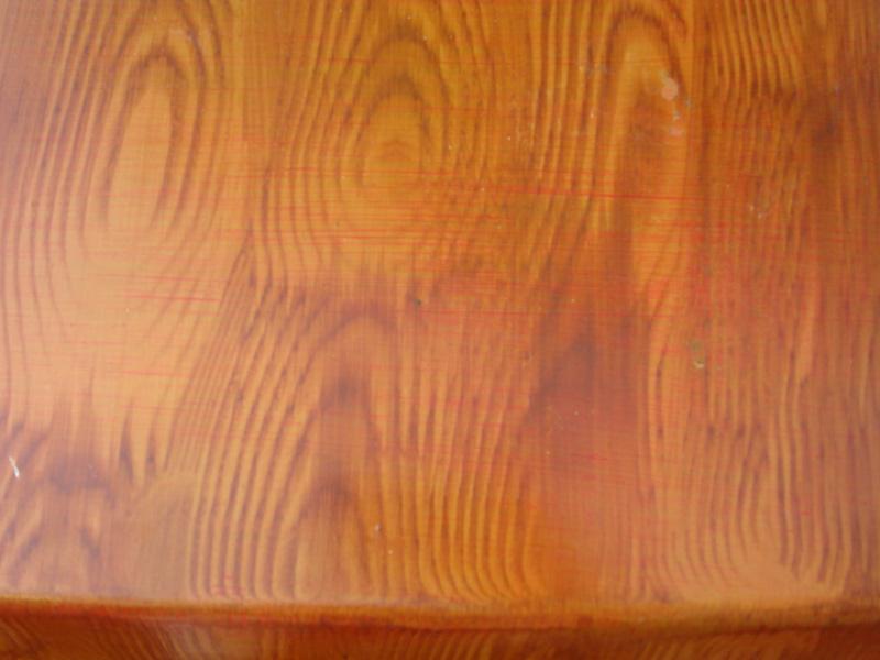 Wood Veneer Car