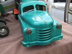 Toy vehicles seen at fall Hershey 2009