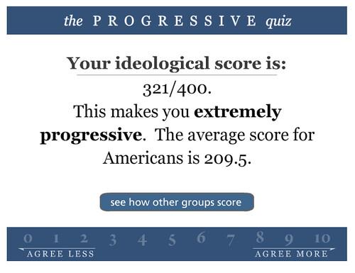Progressive Quiz