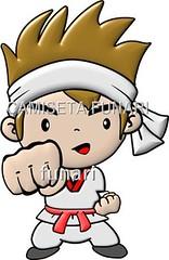 desenho foto lutador taekwondo tkd 3d