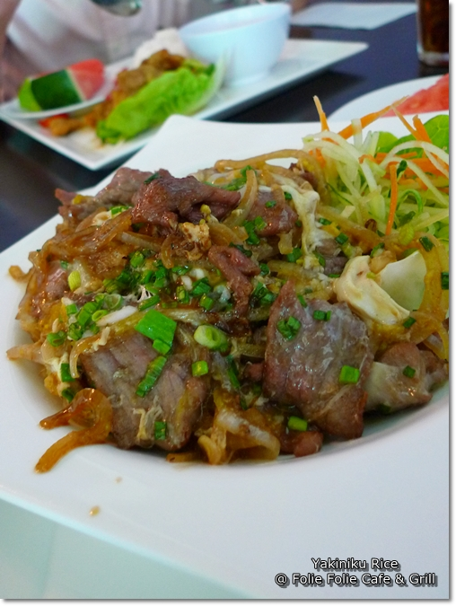 Yakiniku Rice