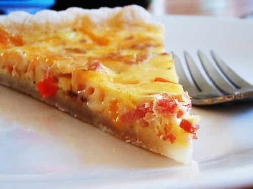 mexican cheese and bacon quiche tart - 41