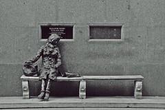 Eleanor Rigby (ihughes22) Tags: sculptures thebeatles eleanorrigby liverpoolecho tommysteele superphotographer nikondigitalmagic mywinners nikond40 liverpooldailypost theperfectphotographer picturesworthathousandwords worldmasterpieceaward liverpoolphotographers merseysidepastandpresent statuespublicart mygearandme ihughes22 universmonochrome liverpoolstreetsandpeople