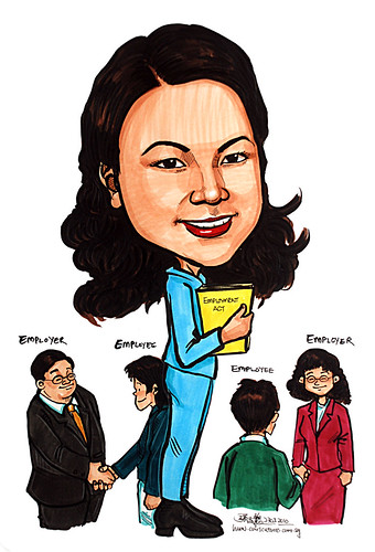 Caricature for Ministry of Manpower - 15