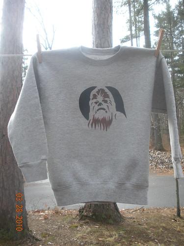 Chewbacca Stencil