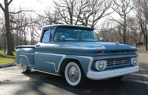 dd620a793bed9 1962 Chevy C-10 Stepside Shortbed Nostalgia Pro Street Pickup Truck  PROJECT