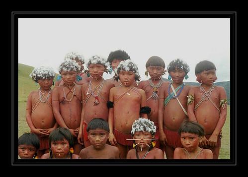 yanonami,amerindiens,amazonie