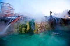 Yubatake, Kusatsu Onsen, Japan  (olvwu | ) Tags: japan hotel onsen hotspring kusatsu touristspot gunma yubatake jungpangwu oliverwu oliverjpwu gunmaprefecture olvwu hotspringsresort yunohana kusatsumachi jungpang agatsumadistrict