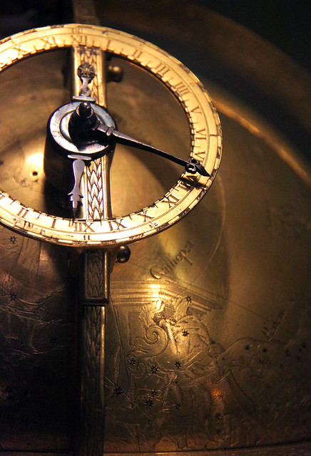 Detail - Celestial sphere driven by a clock movement, by Jost Burgi, c 1580