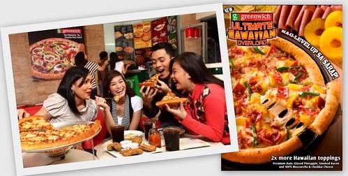 Greenwich Ultimate Hawaiian Overload Pizza