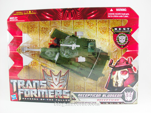 Transformers Bludgeon RotF NEST Voyager - caja