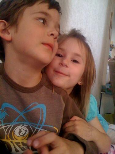 She adores him
