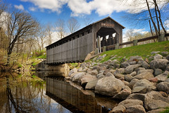 "Fallasburg Covered Bridge Lowell Michigan  - ""Michigan Nut Photography"" (Michigan Nut) Tags: bridge usa reflections river geotagged interesting michigan covered coveredbridge historicalmarker recent oldbridge fallasburg riverreflections absolutemichigan nikon70300mm nx2 lowellmichigan fallasburgcoveredbridge d700 bridgecovered nikond700 capturenx2 michigancoveredbridges bridgescovered michiganhistoricplaces"