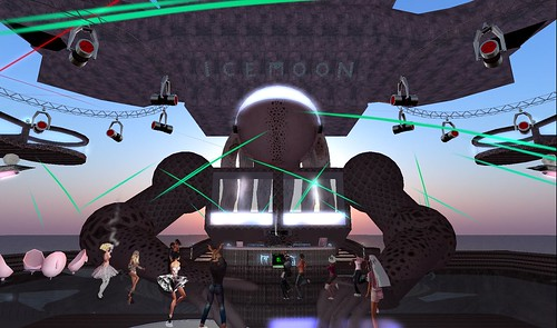 icemoon records party at alien frequency
