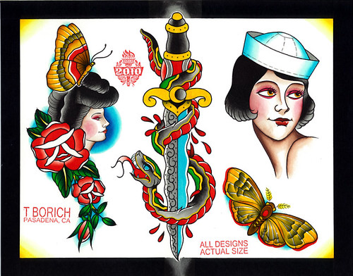 traditional tattoo flash. traditional tattoo flash