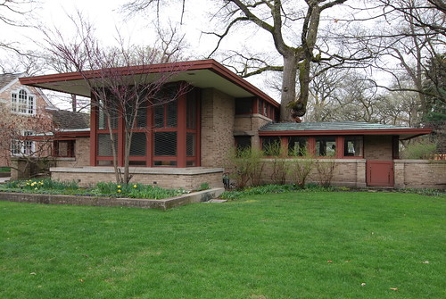 River Forest, IL., Frank Lloyd Wright, Historic styles designed by Wright - Gosia Malochleb