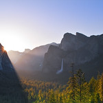 Morning Rays of Light - Yosemite Valley