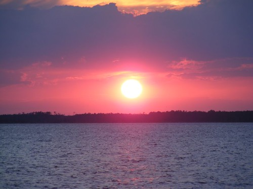 Sunset over the Pungo