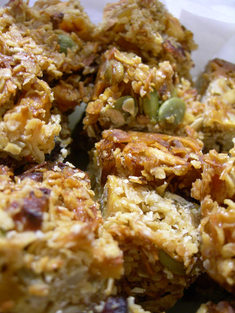 FOOD power oat bars