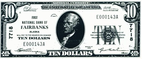 Fairbanks National currency