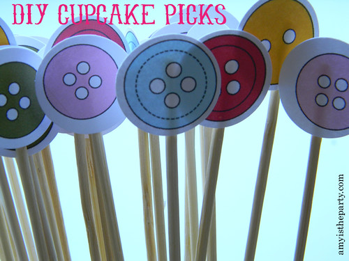 DIY Cupcake Picks