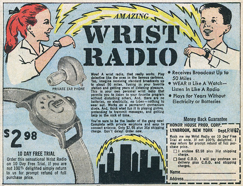 Wrist Radio_tatteredandlost