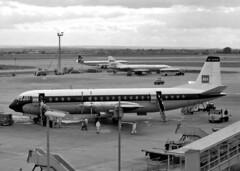 G-APEE Vickers Vanguard 951 British European Airways (Keith B Pics) Tags: gapee vanguard v951 bea britisheuropeanairways lap lhr heathrow wo271065 keithbpics vickers