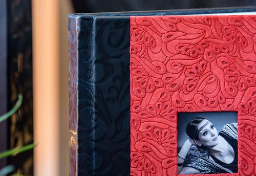 Fotoalbum in Handarbeit aus echtem Leder
