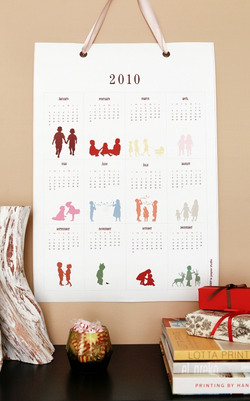 Calendars: Poster Style