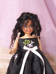 Malib Skipper mohair reroot (Le Barbie Ooak di KeterCreations) Tags: ooak barbie skipper mohair repaint reroot vintageskipper vintagebarbie ooakskipper