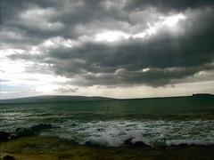Shine (Claire Kaloustian) Tags: ocean light sea green island lights hawaii coast waves shine maui shines