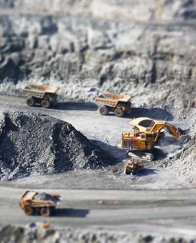 Miniature Gold Mining