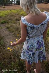 (AlyshaKhokhar) Tags: flowers farm em summerdress