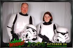 Heather Ty (avitable) Tags: costumes party halloween star heather alien stormtroopers wars invasion invaded avitaween coalminersgd avitaween2009