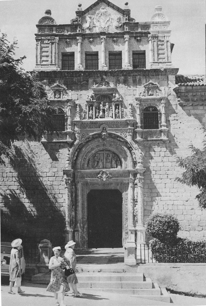 Museo de Santa Cruz en los años 60