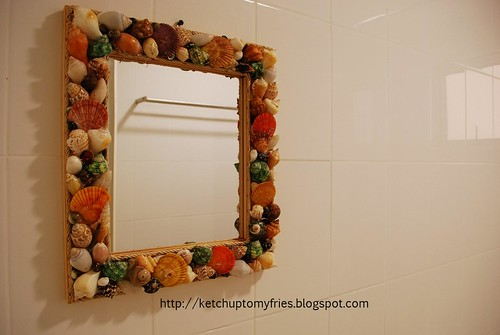 sea shell mirror 1