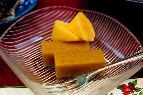 Takayama ryokan food