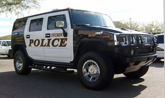 "TPD hummer (bloo_96 ""Daniel DeSart"") Tags: arizona cops tucson police cop law enforcement hummer department cruiser patrol unit recruiting tpd copcar copscar"